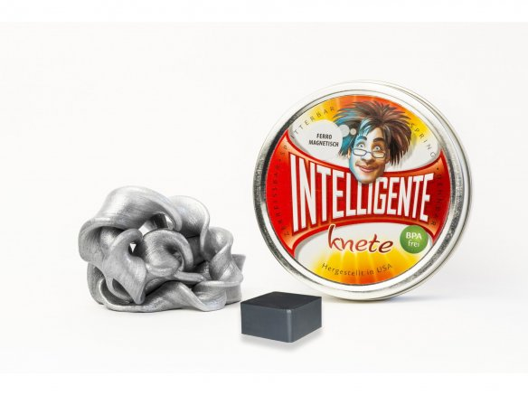 Thinking putty - Ferromagnetic putty