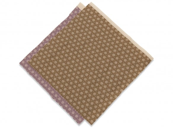 Japanese Asanoha kimono fabric (stars)