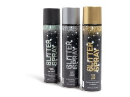 Aerodecor glitter spray