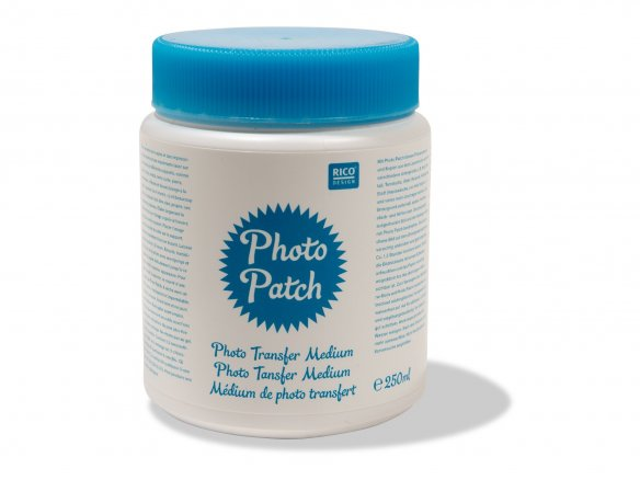 Photo Patch, photo transfer medium