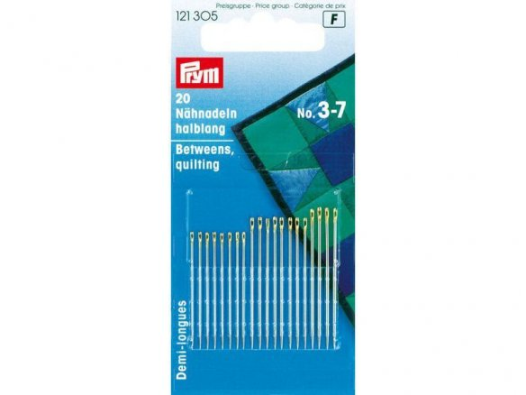 Prym sewing needle, hardened, betweens
