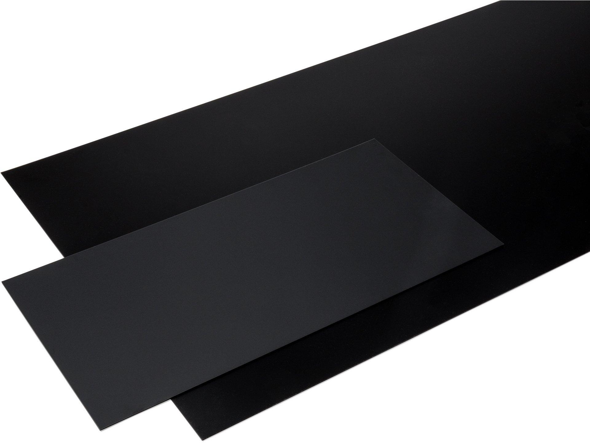 polystyrol schwarz matt jetzt online kaufen modulor. Black Bedroom Furniture Sets. Home Design Ideas