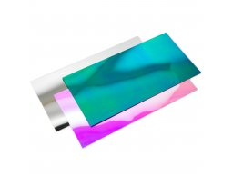 Polystyrene mirror, coloured, smooth