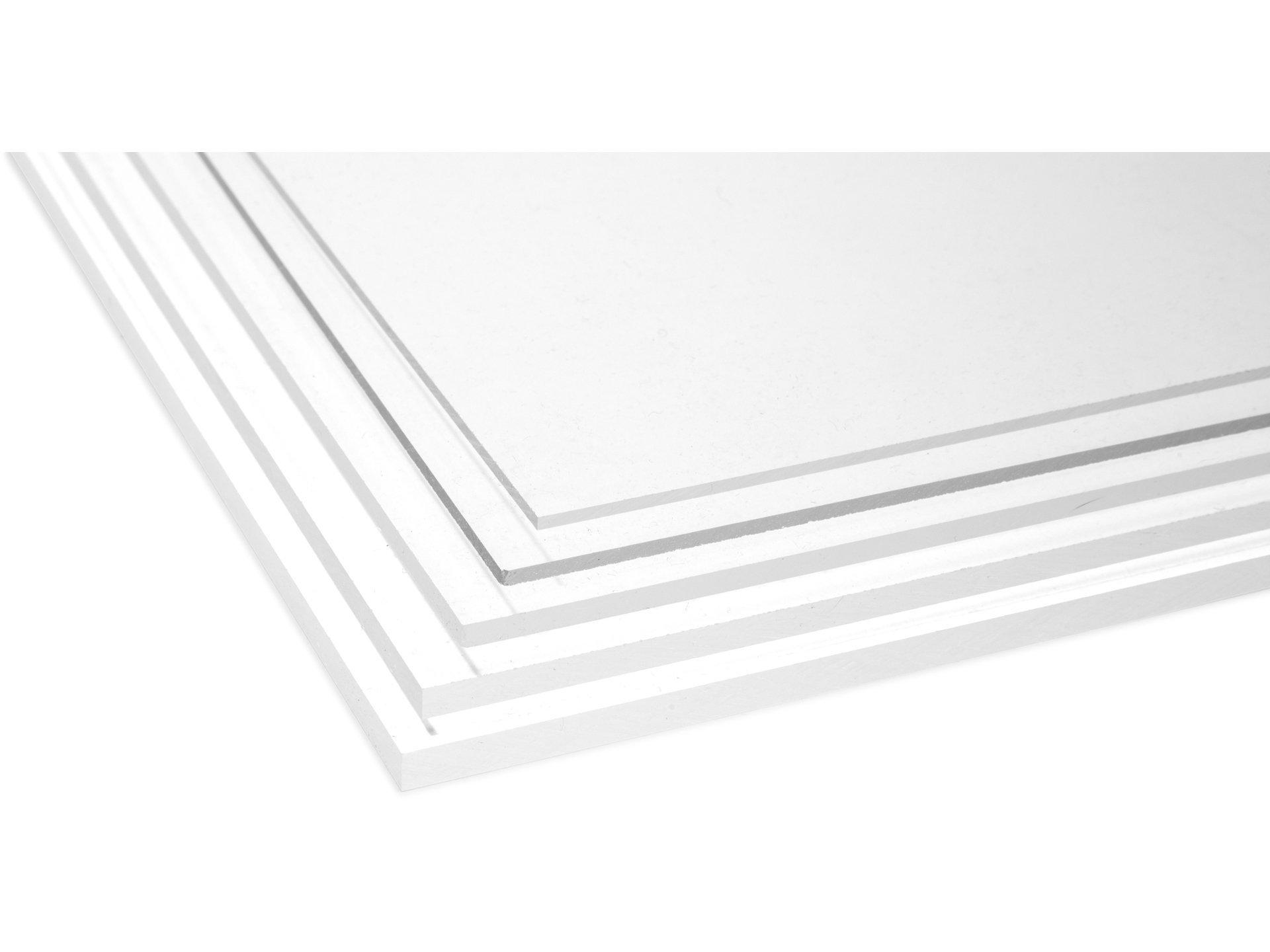 Spiegel aus Acrylglas XT Platte Zuschnitt silber 1000 x 600 x 3 mm
