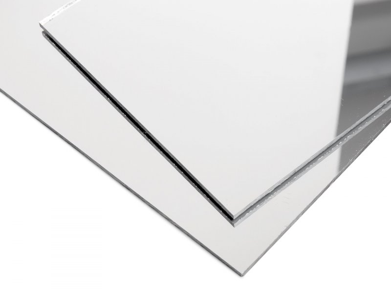 Buy Acrylic Glass Xt Mirror Silver Smooth As Custom Cutting Or