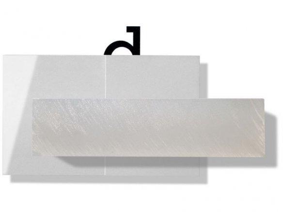 Blocchi di vetro acrilico GS, traslucidi, incolori