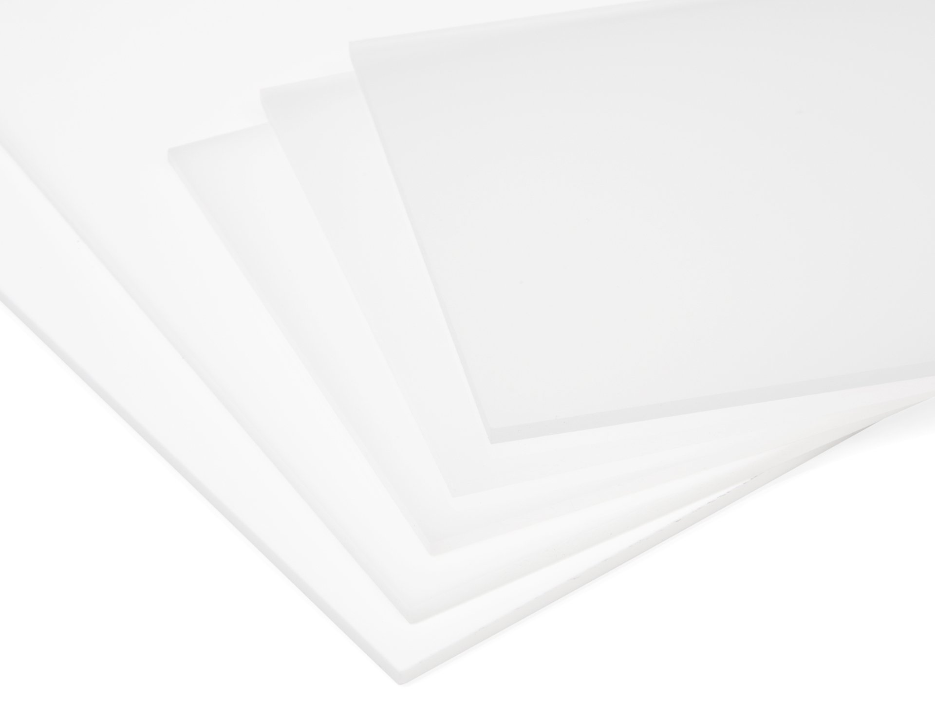 Buy Plexiglas GS white (milky) online at Modulor