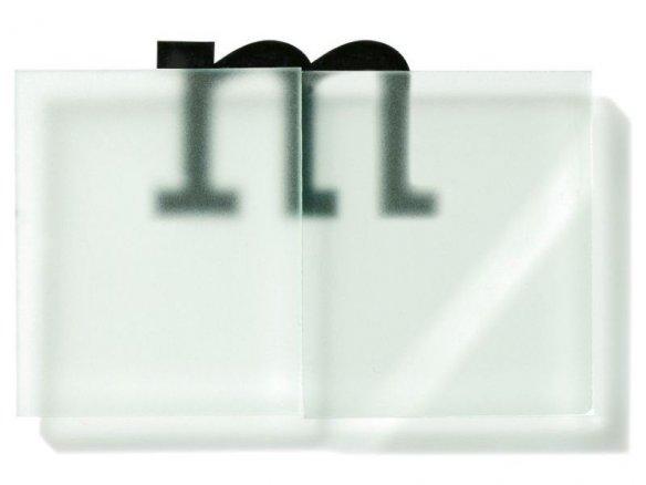 Plexiglas Satinice SC, einseitig satiniert, farbig