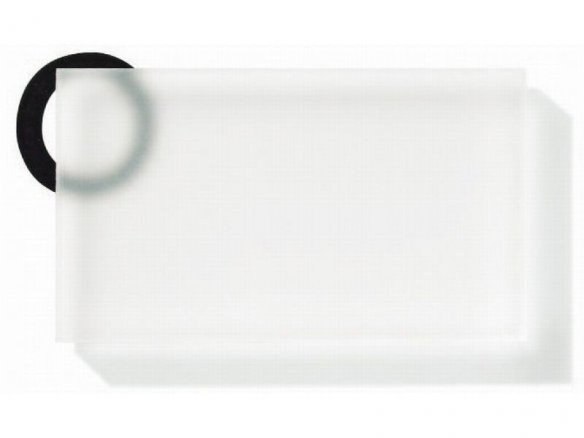 Plexiglas Satinice DC satinato 2 lati, incolore