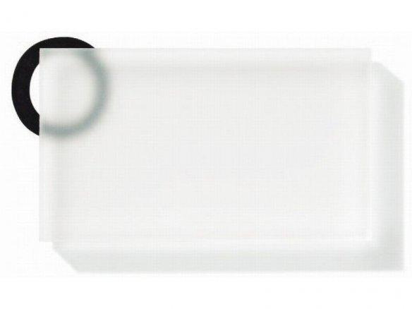 Plexiglás Satinice DC, 2 caras satinadas, incoloro