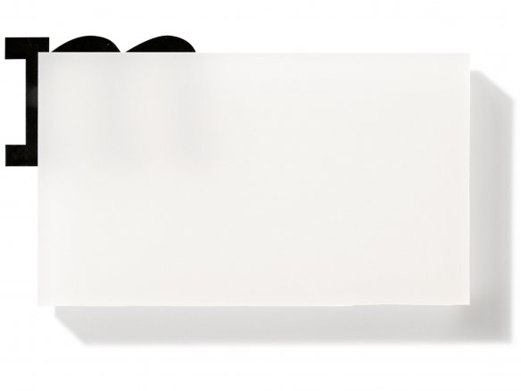Plexiglas Satinice DC, 2-sides satiny, white