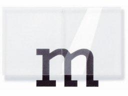 Vetro acrilico di precisione legg. opaco, incolore