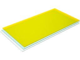 Vetro acrilico di precisione trasparente, colorato