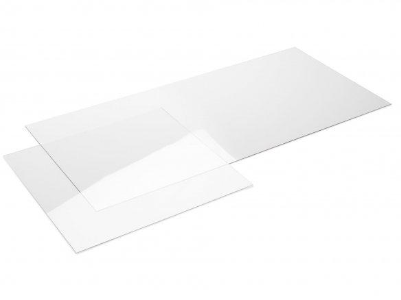 Kunststoff Polycarbonat farblos Zuschnitt Makrolon© 500x500x4mm