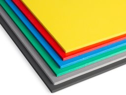 Forex Classic PVC foam board, coloured (custom cutting available)