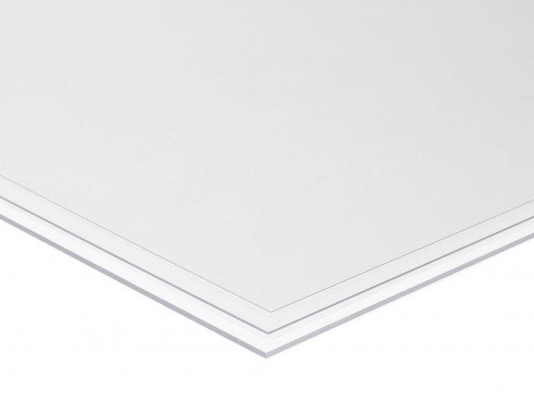 Rigid-PVC, transparent, colourless