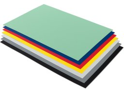 Rigid-PVC opaque, coloured