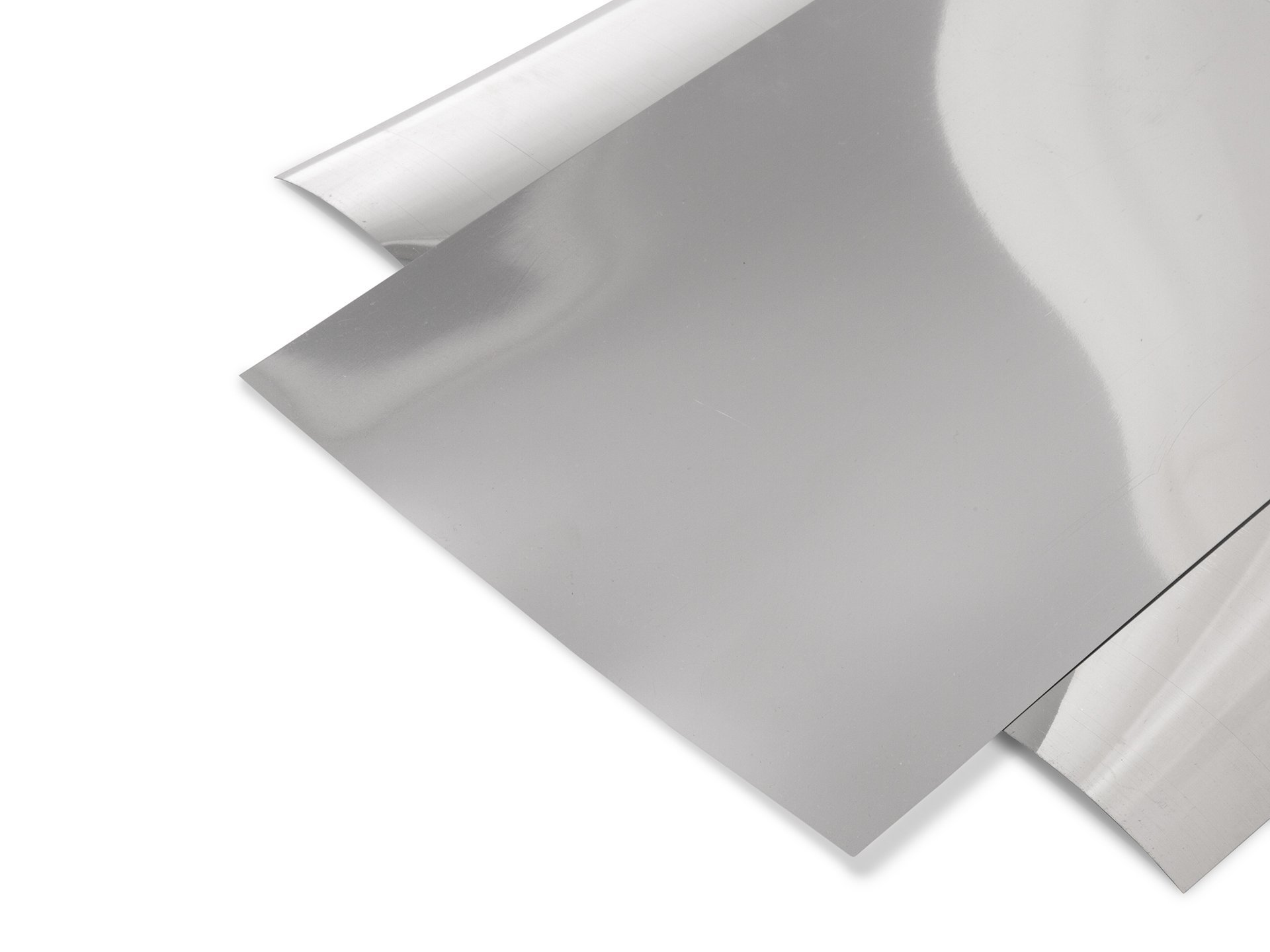 pvc hart spiegelfolie silber glatt kaufen modulor. Black Bedroom Furniture Sets. Home Design Ideas