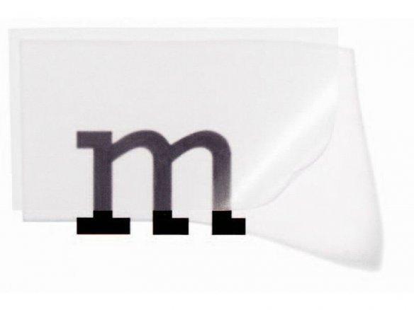 Foglio di PVC morbido trasparente, incolore, opaco