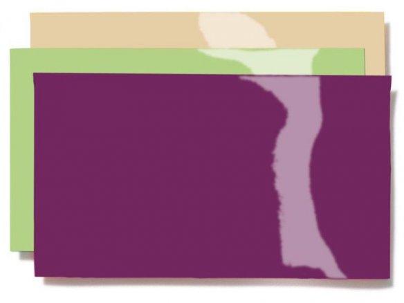 PVC-weich Lackfolie, opak, doppellagig