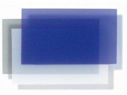 Lámina translúcida de PVC blando, de color