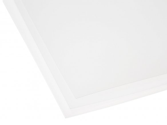 Polypropylene translucent, colourless, matte