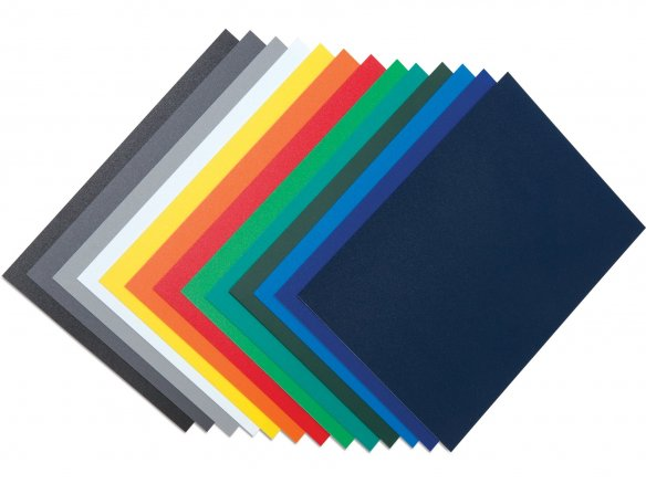 Polypropylene opaque, coloured, matte