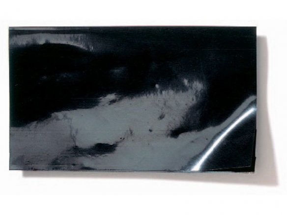 Polyethylene black-out film, black