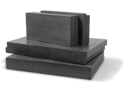 Polystyrene rigid foam, silver-grey, untrimmed