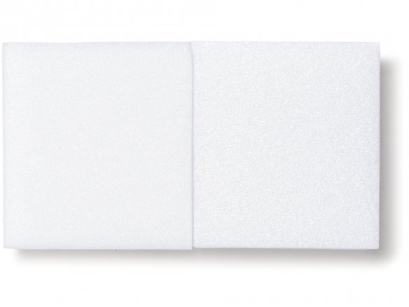 Selitron PS rigid foam panel, white