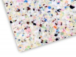 PU chip foam 120, multicoloured