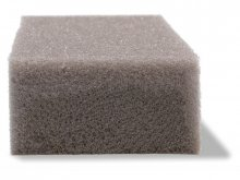 PU soft foam 15/20, grey