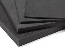 Polyethylene soft foam, anthracite