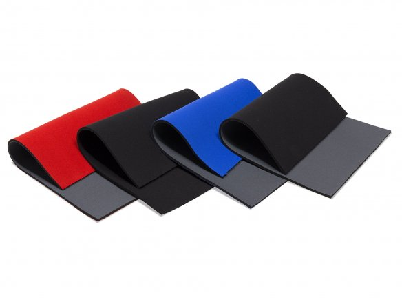 Neoprene mat, cloth coated