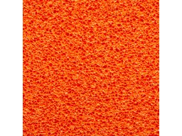 Sponge rubber mat, orange