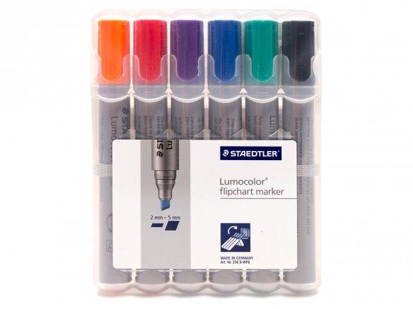 """Staedtler Lumocolor flipchart marker """"bullet tip"""""""
