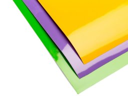 Oracal 651 coloured adhesive film, opaque, glossy