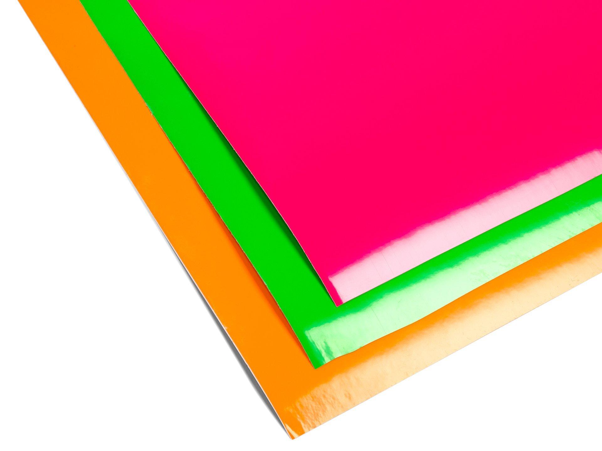 Oracal 6510 farbklebefolie neonfarben gl nzend kaufen for Klebefolie metall