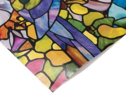 D-C-Fix glass decor adhesive film, translucent, coloured