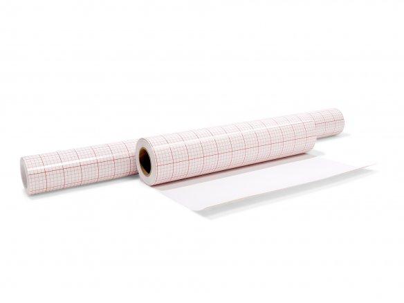 Lámina adhesiva p. lámparas, de PVC rígido, blanca