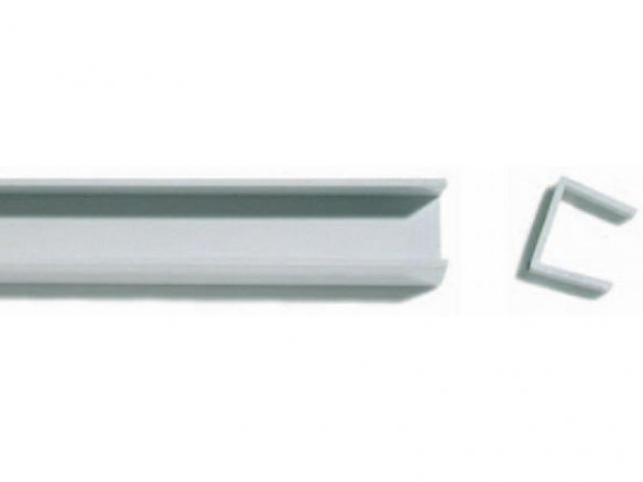Rigid-PVC edge-protector