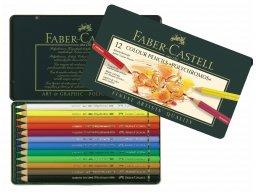 Faber Castell Polychromos coloured pencil, set of 12