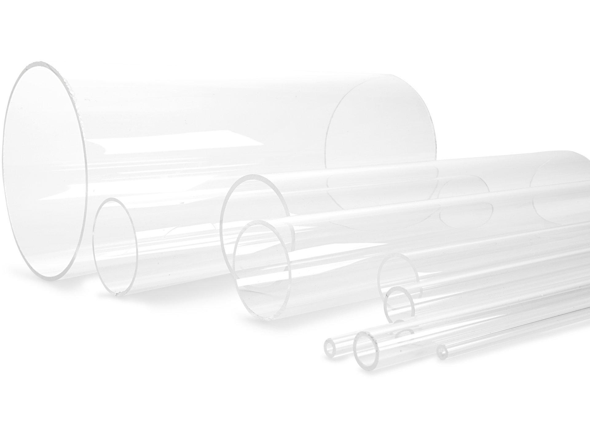 acrylglas xt rundrohr farblos online kaufen modulor. Black Bedroom Furniture Sets. Home Design Ideas