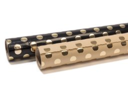 Paper Poetry gift wrap paper roll, dots