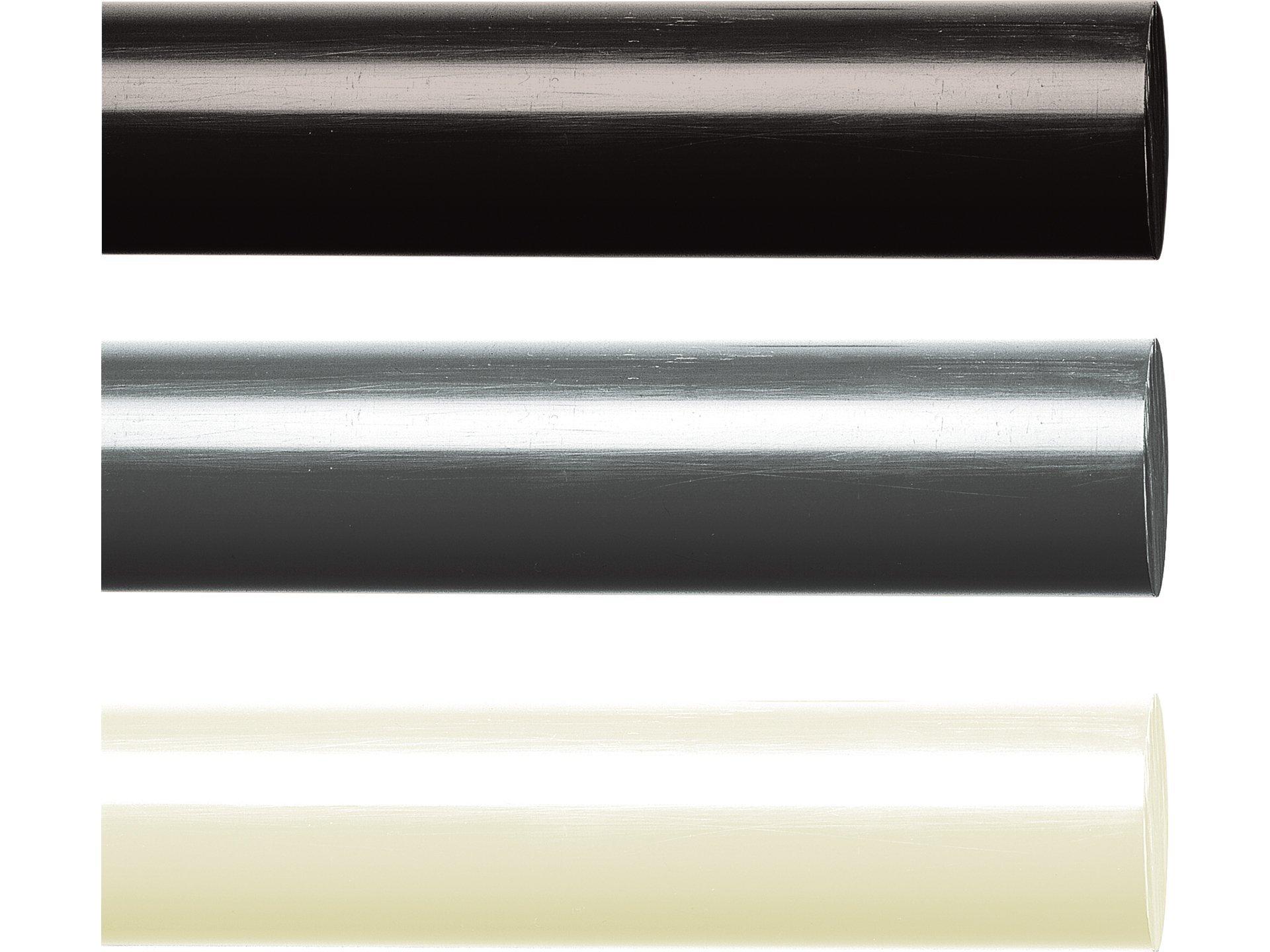 Kunststoffstab auf Zuschnitt POM Rundstab schwarz /Ø 5mm 80cm L: 800mm