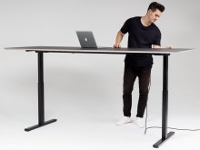 Modulor T2 table system, height adjustable