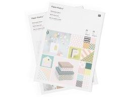 Paper Poetry motif paper pad