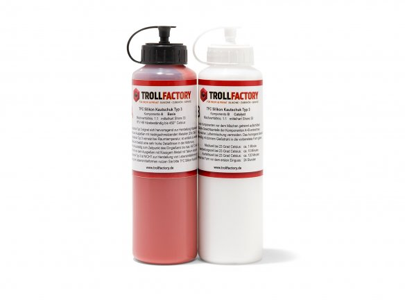 TFC silicone rubber type 3 heat resistant, set