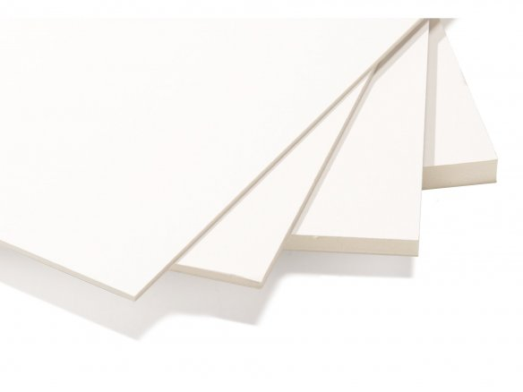 Kapa line, forrado de cartulina, blanco
