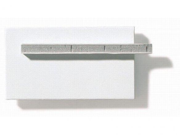 Kapa mount, forrado con lámina de aluminio, blanco